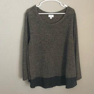 Old Navy Sz XXL Chiffon Trim Pullover Sweater